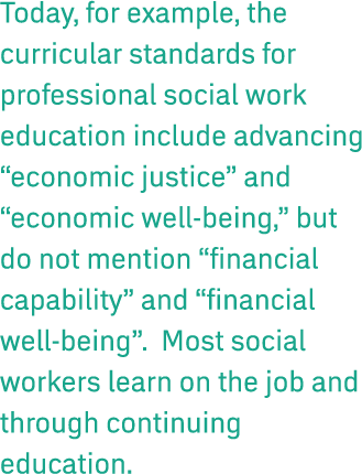 being a social worker